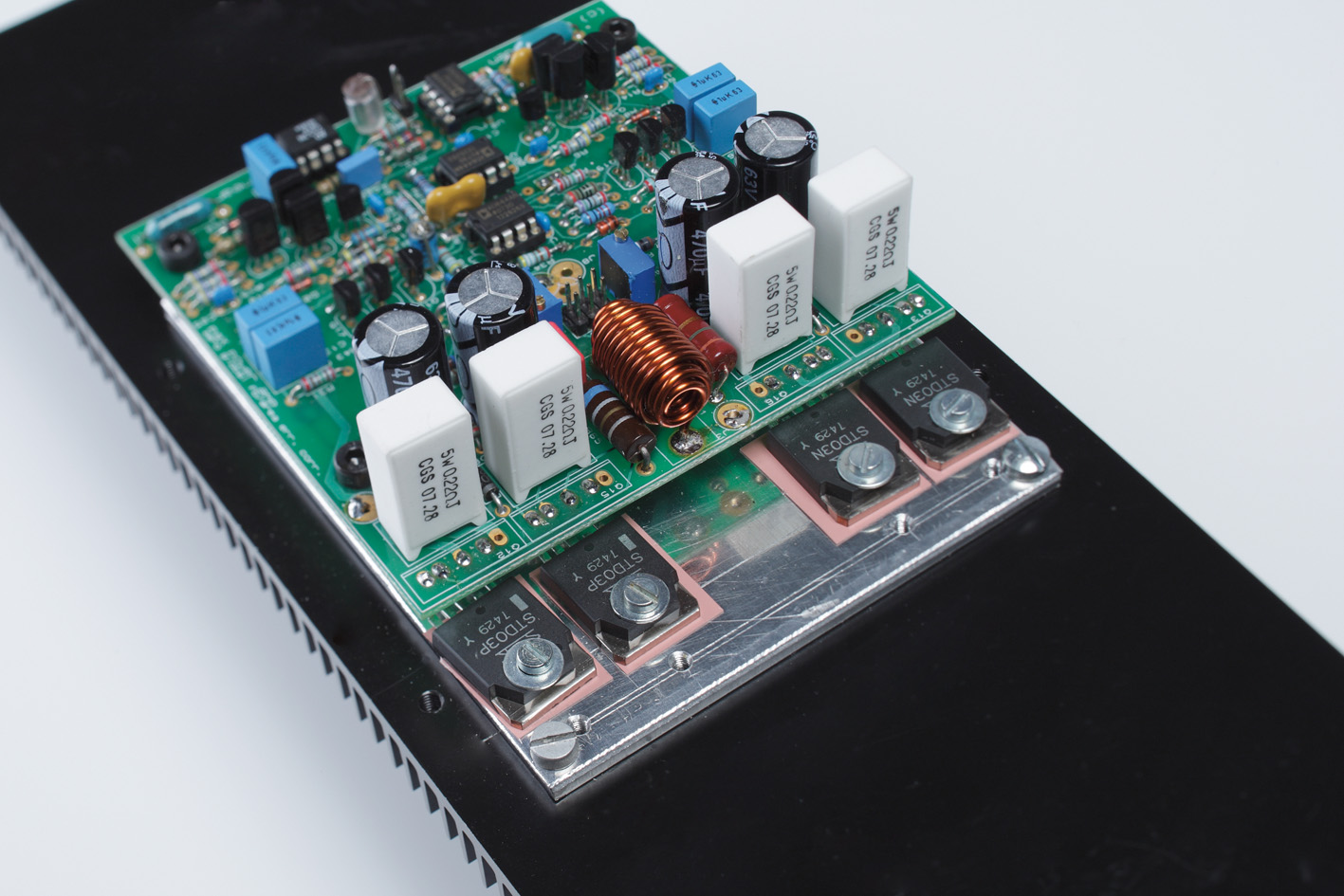 Error-correction power amp | Linear Audio NL