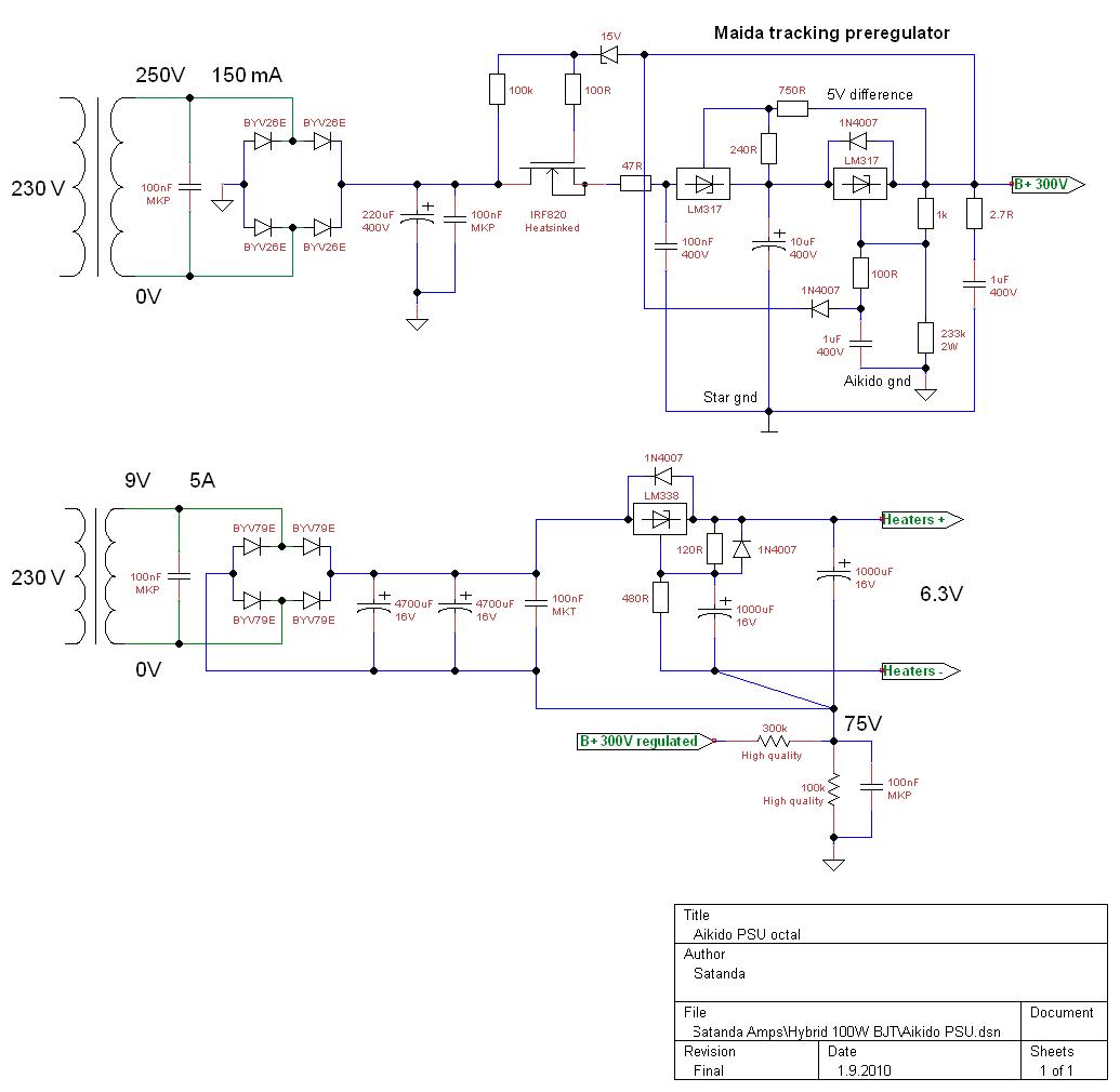 Error-correction power amp   Linear Audio NL