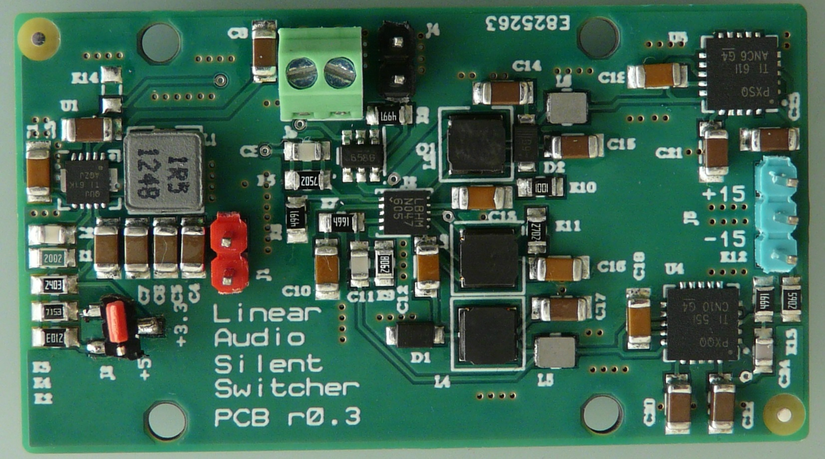 The Silentswitcher Linear Audio Nl Power Supply Wiring Diagram Overwhelmingly Analog Circuitry Wants To Be Fed With 15vdc So That Was Target For My Adventure But Increasingly Is Combined